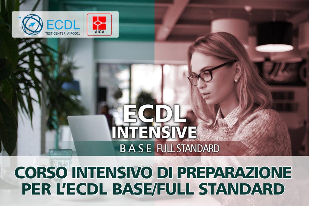 CORSO INTENSIVO PER ECDL BASE/FULL STANDARD